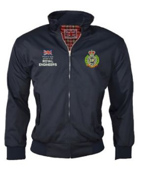Proud to have Served Harrington Embroidered Jackets